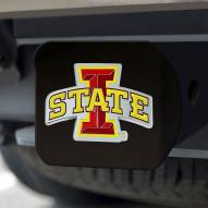 Iowa State Cyclones Black Color Hitch Cover