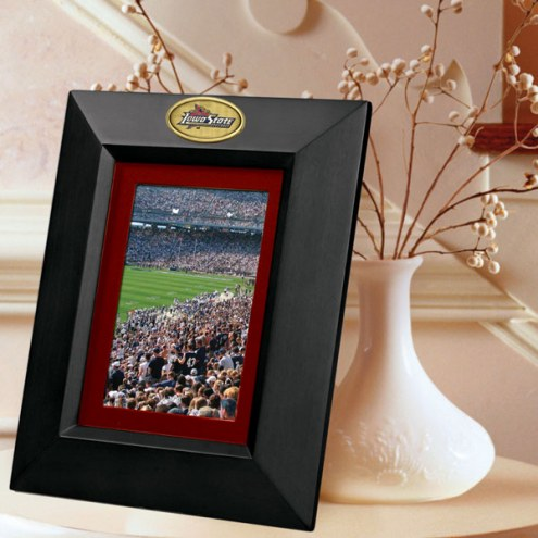 Iowa State Cyclones Black Picture Frame