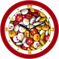 Iowa State Cyclones Candy Wall Clock