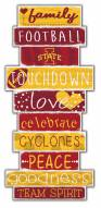 Iowa State Cyclones Celebrations Stack Sign