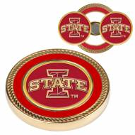 Iowa State Cyclones Challenge Coin with 2 Ball Markers