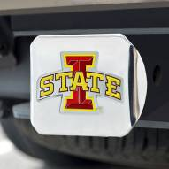 Iowa State Cyclones Chrome Color Hitch Cover