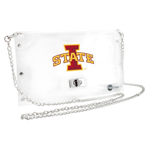 Iowa State Cyclones Clear Envelope Purse