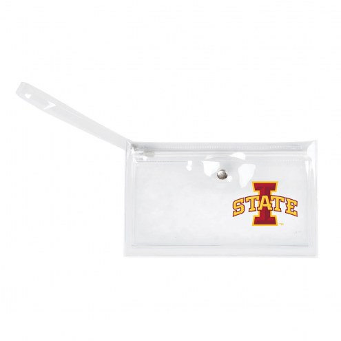 Iowa State Cyclones Clear Ticket Wristlet