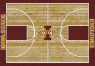 Iowa State Cyclones College Home Court Area Rug