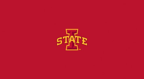 Iowa State Cyclones College Team Logo Billiard Cloth