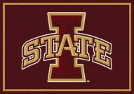 Iowa State Cyclones College Team Spirit Area Rug
