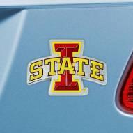 Iowa State Cyclones Color Car Emblem