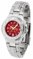 Iowa State Cyclones Competitor Steel AnoChrome Women's Watch