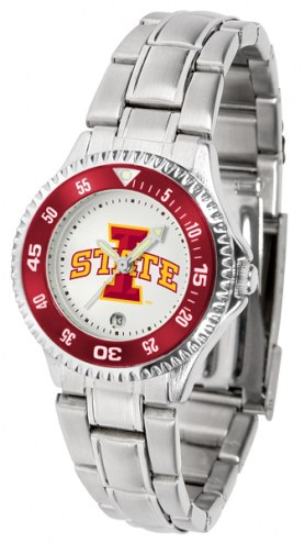 Iowa State Cyclones Competitor Steel Women's Watch