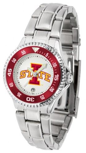 Iowa State Cyclones Competitor Steel Women's Watch