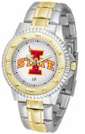 Iowa State Cyclones Competitor Two-Tone Men's Watch