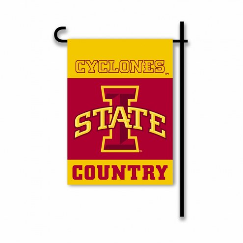 Iowa State Cyclones Country Garden Flag