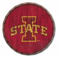 "Iowa State Cyclones Cracked Color 24"" Barrel Top"