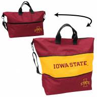 Iowa State Cyclones Crosshatch Expandable Tote