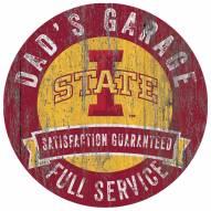 Iowa State Cyclones Dad's Garage Sign