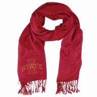 Iowa State Cyclones Dark Red Pashi Fan Scarf