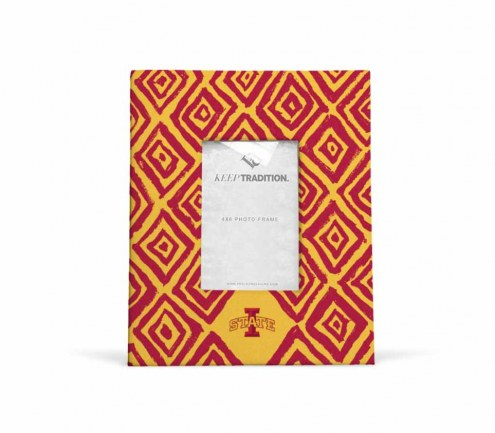 Iowa State Cyclones Diamond Picture Frame