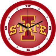 Iowa State Cyclones Dimension Wall Clock