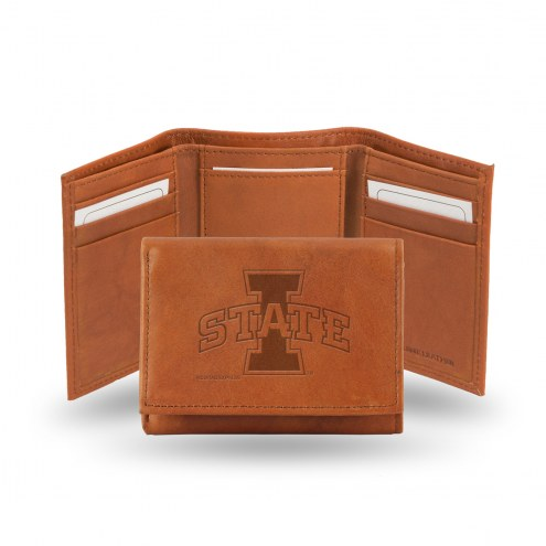 Iowa State Cyclones Embossed Tri-Fold Wallet