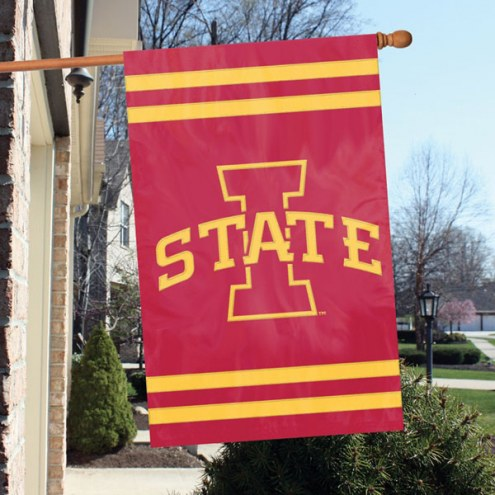 Iowa State Cyclones NCAA Embroidered / Applique College Flag Banner