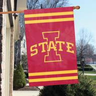 Iowa State Cyclones NCAA Applique 2-Sided Banner Flag