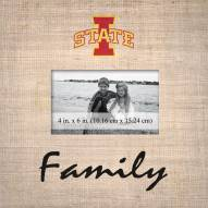 Iowa State Cyclones Family Picture Frame