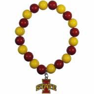 Iowa State Cyclones Fan Bead Bracelet