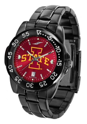 Iowa State Cyclones Fantom Sport AnoChrome Men's Watch