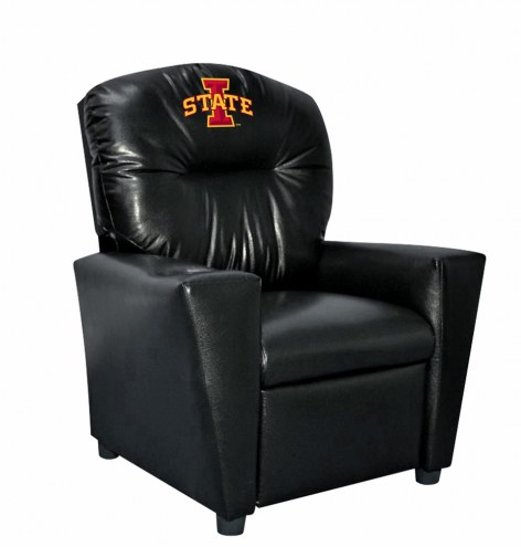 Iowa State Cyclones Faux Leather Kid's Recliner