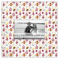 """Iowa State Cyclones Floral Pattern 10"""" x 10"""" Picture Frame"""