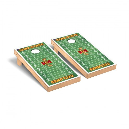 Iowa State Cyclones Football Field Cornhole Game Set