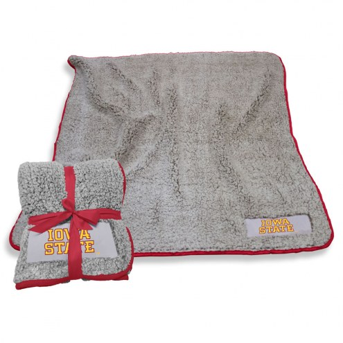 Iowa State Cyclones Frosty Fleece Blanket