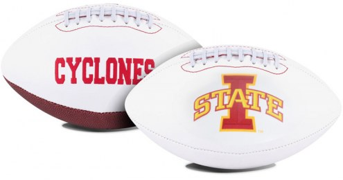 Iowa State Cyclones Full Size Embroidered Signature Series Football