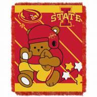 Iowa State Cyclones Fullback Baby Blanket