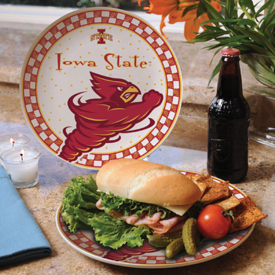 Iowa State Cyclones Gameday Ceramic Plate
