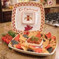 Iowa State Cyclones Gameday Chip N Dip Dish