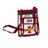 Iowa State Cyclones Gameday Clear Crossbody Tote