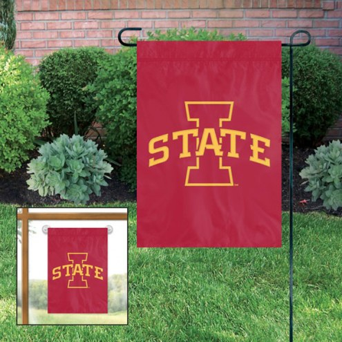 Iowa State Cyclones Garden Flag