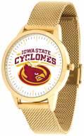 Iowa State Cyclones Gold Mesh Statement Watch