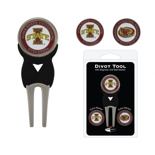 Iowa State Cyclones Golf Divot Tool Pack