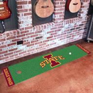 Iowa State Cyclones Golf Putting Green Mat