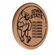 Iowa State Cyclones Laser Engraved Wood Sign