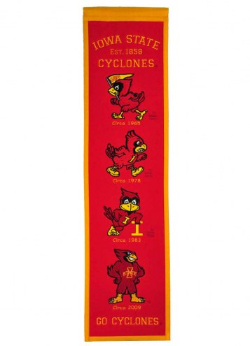 Iowa State Cyclones Heritage Banner