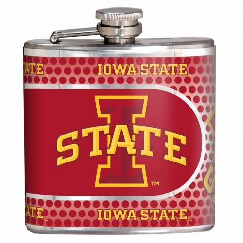 Iowa State Cyclones Hi-Def Stainless Steel Flask