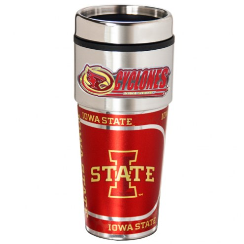 Iowa State Cyclones Hi-Def Travel Tumbler