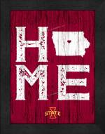 Iowa State Cyclones Home Away From Home Wall Decor