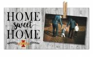 Iowa State Cyclones Home Sweet Home Clothespin Frame