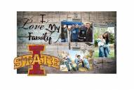 Iowa State Cyclones I Love My Family Clip Frame