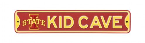 Iowa State Cyclones Kid Cave Street Sign